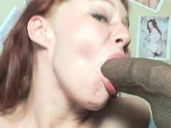 Ebony Boyfrend With Huge Strapon Bonks His Girlfriend