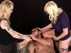 Girls Ride Fellows Ass Hole With Monster Strapons And Splash