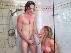 my-gfs-hot-mom-sneaks-and-sucks-my-dick-in-the-shower