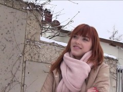 german-redhead-amateur-bangs-in-car-for-money