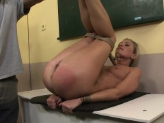 Pretty Submissive Gets Tiedup And Fucked