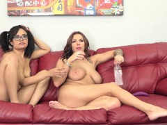 these-babes-love-working-a-double-sided-dildo-till-they-cum