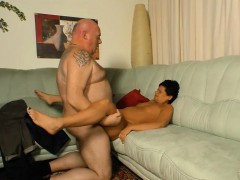 hot german mature with a monster booty gets hardcore pounded by