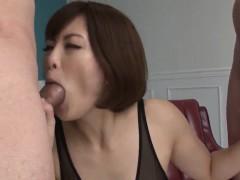 Tomoka Sakurai Appears To Be Sucking On Two Cocks