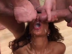 Her First Anal At Our Gangbang Party