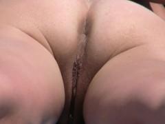 Amateur Nudist Voyeur Pierced Pussy Close Up Video