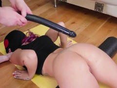 russian girl rough backdoor gangbang ass-slave yoga