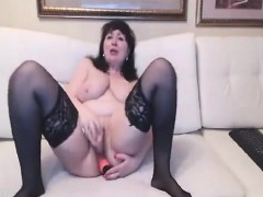 Masturbate Big Boobs Mature Woman
