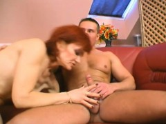Mature Broad And Young Chicks Have Threesome