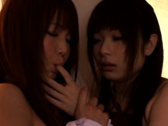 nippon-les-schoolgirls-secretly-nipplesucking