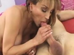 Slutty Mature Sofia Soleil Masturbates