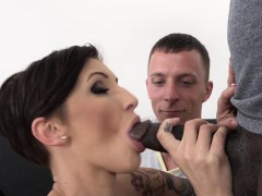 short-hair-wife-cant-get-enough-anal-husband-lick-cum