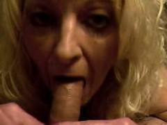 blonde housewife pov blowjob