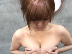hot ass girl craves dick in her oriental muff whilst moaning naked gf