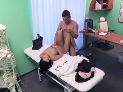 Tattooed Back Patient Bangs Doctor