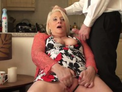 british granny fingerfucking herself WWW.ONSEXO.COM