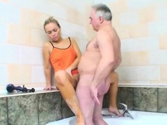 Granddad Fucked A Sexy Legal Age Teenager