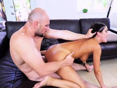 sexy chick august ames gets her muffin ruined