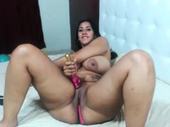 chubby-amateur-wife-toys-sucks-and-fucks-with-cum