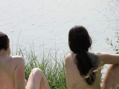some amazing nudist teens this year nudist summer Hot