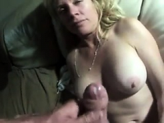slutty european cumshot