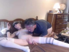 Amateur Teen Tied Up For Bdsm