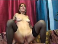 Cock Loving Granny Ivet Gets