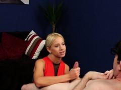 Euro Cfnm Babe Sucking Firsttimers Cock