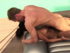 Enjoy A Huge Dick With Massage
