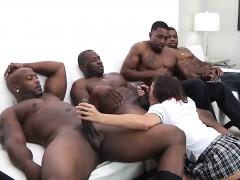 Hot Slut Keisha Grey Takes By Massive Black Cocks At A Time