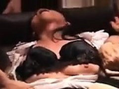 Japanese Amateur Has Gangbang