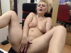 Busty Girl With Big Boobs Sucks Two Dicks