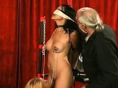 Beauty Enjoys Intimate Moments Of Non-professional Bondage