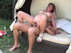 Slutty Granny For Young Cock