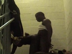 Thugs Run Train In Staircase