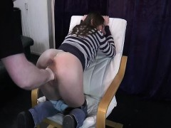 Grizzly Old Pervert Fisting Loose Teen Pussy