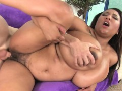 Plumper Shows Off Her Big Tits and Fucks