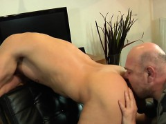 Amateur Euro Rimmed After Bj With Old Guy