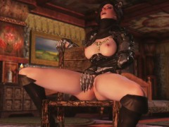 3d queen of darkness summoned for herself a horny to fuck he