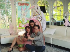 Ally's Daughter Shares Bf With Milf And British Mother