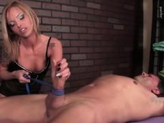 hot-femdom-handjob-by-blonde-hottie