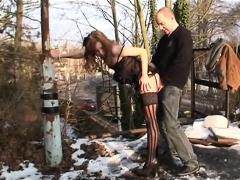 Milfs Outdoor Public Sex In Winter - More On Hdmilfcam.com