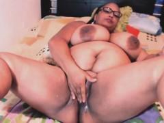 bbw-ebony-with-monster-tits-enjoys-fingering-wet-pussy