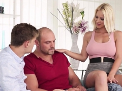 Bisex Guy Joins Couple In Threesome