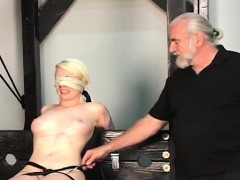 Coarse Spanking And Harsh Thraldom On Woman's Bawdy Cleft