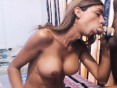 Hot Sexy Tranny Gets a Nice Anal