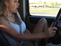 Masturbating On The Highway