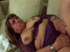 Lucky Guy Gets Pleased By Granny