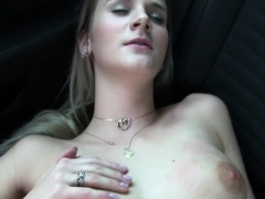 Teen Gal Fucked In Car For Cash