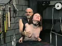 Top Notch Dilettante Bondage Scenes With Young Hotty